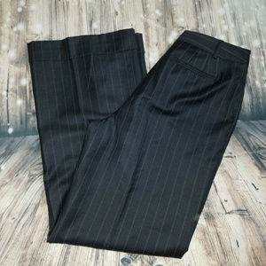 Ellen Tracy pinstriped trousers career pants sz 14